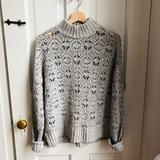 American Eagle Outfitters Sweaters | Aeo Grey Mock Turtleneck Sweater | Color: Gray | Size: M