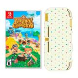 Animal Crossing: New Horizons Game & Switch Light Case Bundle for Nintendo Switch, Multicolor