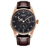 Corgeut Sport Mens Watches fashtion Automatic Seagull self-Winding Kinetic Energy Waterproof 316L Stainless Steel Leather Wristwatches 42mm 2053-3