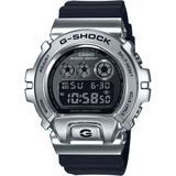 Digital Black Resin Strap Watch 50mm - Metallic - G-Shock Watches