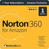 Norton 360 for Amazon 2021 – Antivirus software for 1 Device with Auto Renewal