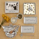 Mariposa My Hive Signature Picture Frame Metal in Gray/Green, Size 5.5 H x 6.25 W x 0.75 D in   Wayfair 4300MH