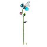 Rosalind Wheeler Aliya Butterfly Garden Stake Metal, Size 19.76 H x 4.47 W x 9.06 D in | Wayfair E0E455CC787348BAA5CF366A8CDA4C03