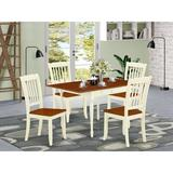 Ophelia & Co. Chelmsford Drop Leaf Solid Wood Dining Set Wood in White, Size 30.0 H in | Wayfair 094FF75E5D1F4E56821B7F4899E49AB6