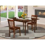 Ophelia & Co. Colrain Drop Leaf Solid Wood Dining Set Wood in Brown, Size 30.0 H in   Wayfair 5C770436576F4002962A6664C15B56FC
