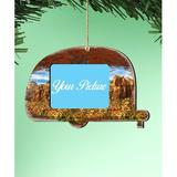 The Holiday Aisle® Camper Woodsy Photo Ornament Wood in Brown, Size 5.5 H x 5.0 W x 0.25 D in | Wayfair 683989CC6BA949D9876563FC399819AB