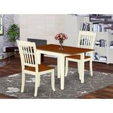 Winston Porter Sherwinn Drop Leaf Solid Wood Dining Set Wood in White, Size 30.0 H in | Wayfair 93B7622C7B724BC0973F8313C269DBDF