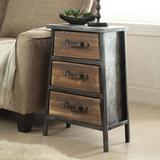 4D Concepts Urban Collection 3-Drawer End Table, Multicolor