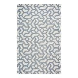 Rizzy Home Elettra Wool Area Rug, Beig/Green, 8X10 Ft