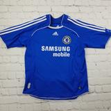 Adidas Other | 2006 Chelsea Fc Home Soccer Jersey By Adidas. | Color: Blue/White | Size: Medium