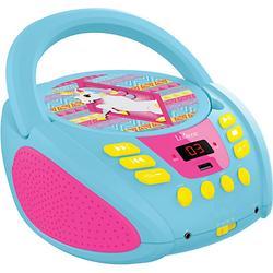 Einhorn CD-Player rosa/blau