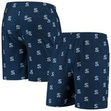 """""""Men's Navy Chicago White Sox Cooperstown Collection Mini Logo Swim Shorts"""""""
