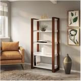Kathy Ireland by Bush Industries Voss 5-Shelf Bookcase - OSB130WC2-03