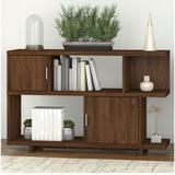Kathy Ireland by Bush Industries Madison Avenue Low Geometric Bookcase- MDB148MG-03