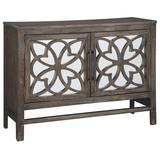 Signature Design Alvaton Accent Cabinet in Antique Brown - Ashley Furniture A4000222