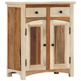 "vidaXL Side Cabinet 23.6""x11.8""x29.9"" Solid Reclaimed Wood"