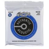 Martin Authentic Acoustic Superior Performance Guitar Strings - 80/20 Bronze Medium