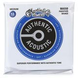 Martin Authentic Acoustic Superior Performance Guitar Strings - 92/8 Phosphor Bronze Medium