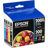 Epson 200XL High-Capacity Black and Standard-Capacity Color Ink Cartridge Combo P T200XL-BCS