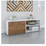 Bush Business Furniture Jamestown Low Storage Cabinet - JTS160FWWH