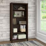Bush Somerset Collection Bookcase 5-Shelf Mocha Cherry - WC81865