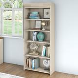Bush Fairview 5-Shelf Bookcase Antique White - WC53265-03