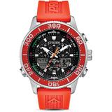 Eco - Drive Promaster Sailhawk Top Of Water Watch - Red - Citizen Watches
