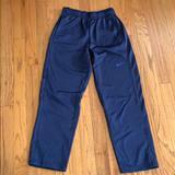 Nike Bottoms | 2 Pair Nike Thermafit Fleece Training Pants Boys M | Color: Black/Blue | Size: Mb