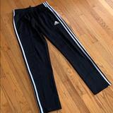 Adidas Bottoms | 2 Pairs Adidas Training Pants, Size Boys L. | Color: Black/Gray | Size: Lb