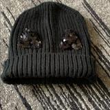Zara Accessories | Black Kids Cat Ear Hat | Color: Black | Size: Osg