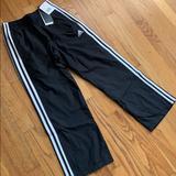 Adidas Bottoms | Adidas Nylon Training Pants, Boys S, Nwt | Color: Blue/White | Size: Sb