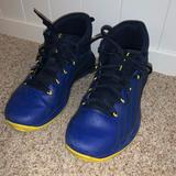 Under Armour Shoes | Basketball Under Amour Shoes | Color: Blue/Yellow | Size: 5b