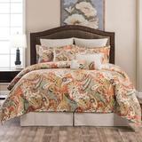 Contempo Comforter Set Multi Warm, California King, Multi Warm