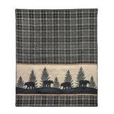 Donna Sharp Throw, Bear Walk Plaid UCC - American Heritage Textiles 33430