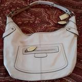 Coach Bags | Adorable Cream Color Coach Purse | Color: Cream/White | Size: Os