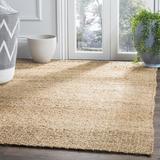 Andover Mills™ Jeremy Handmade Flatweave Jute/Sisal Beige Area Rug Jute & Sisal in Brown/White, Size 72.0 H x 30.0 W x 0.5 D in | Wayfair