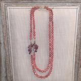Anthropologie Jewelry   Anthropologie Statement Necklace   Color: Red   Size: Os