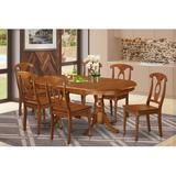 Lark Manor™ Zellmer Butterfly Leaf Rubberwood Solid Wood Dining Set Wood in Brown, Size 30.0 H in | Wayfair DRBC3905 31955194