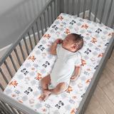 Bedtime Originals 3 Piece Crib Bedding Set Polyester in Gray, Size 28.0 W in | Wayfair 234003V
