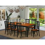 Darby Home Co Beesley Butterfly Leaf Solid Wood Dining Set Wood in Black, Size 30.0 H in | Wayfair DABY5538 39638847