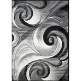 HR HANDCRAFT RUGS Hawaii Oriental Bone Area Rug Polypropylene in White, Size 120.0 H x 0.5 D in   Wayfair IBZ_180-8X10-BON