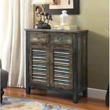 Gracie Oaks Liz 2 Drawer Accent Chest Wood in Brown, Size 32.0 H x 35.0 W x 15.0 D in   Wayfair 582C1F4DA852435682427EEE4C07511B