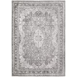 Ophelia & Co. Cairo Oriental Area Rug Polyester in Gray, Size 90.55 H x 62.99 W x 0.08 D in | Wayfair 28DB0C2F1A2646F082765470BBD5A9A7