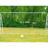 Winado Competition Soccer Portable Goal Metal in White, Size 143.7 H x 71.7 W x 35.4 D in | Wayfair whg1-89013267