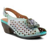 Lovella Sandal - Blue - Spring Step Heels