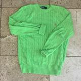 Polo By Ralph Lauren Sweaters   Beautiful Spring Sweater!!   Color: Green   Size: M