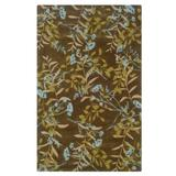 Trio Chocolate 8'X10' Area Rug by BrylaneHome in Chocolate