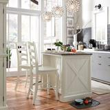 Seaside Lodge Counter Stool by Homestyles in White