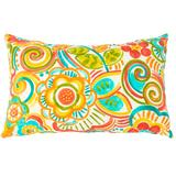 """20"""" x 13"""" Lumbar Pillow by BrylaneHome in Bronwood Carnival"""