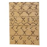 Moroccan Rug by BrylaneHome in Beige Brown (Size 8'W X 10'L)